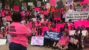 Pueblo teacher strike