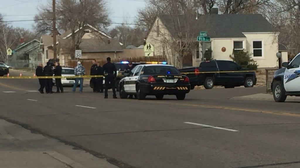 Pueblo Officer Hit