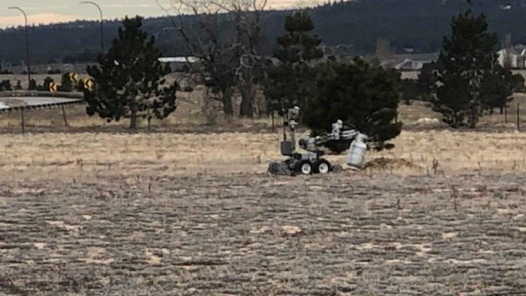 Robot disposal