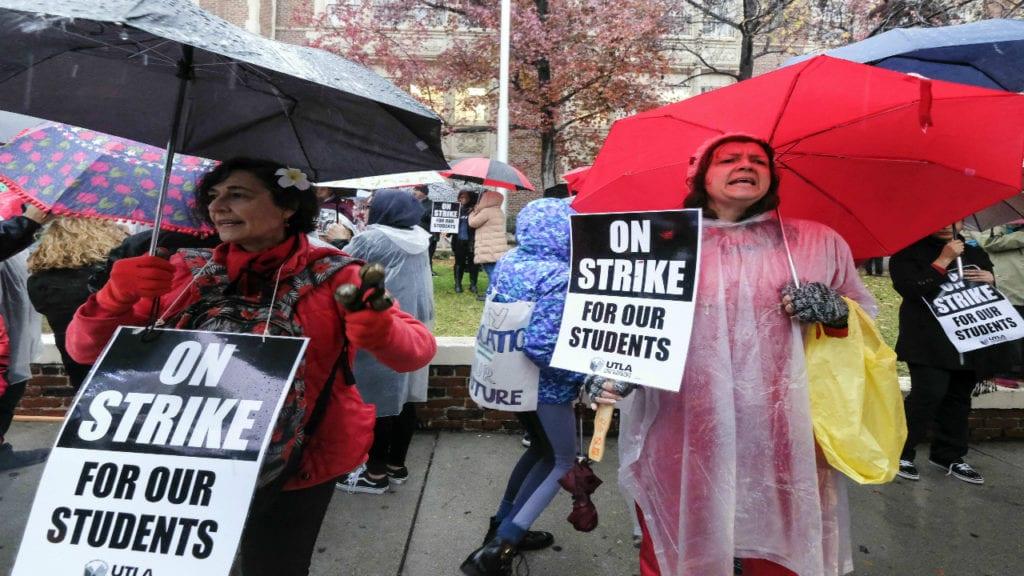 LA teacher strike