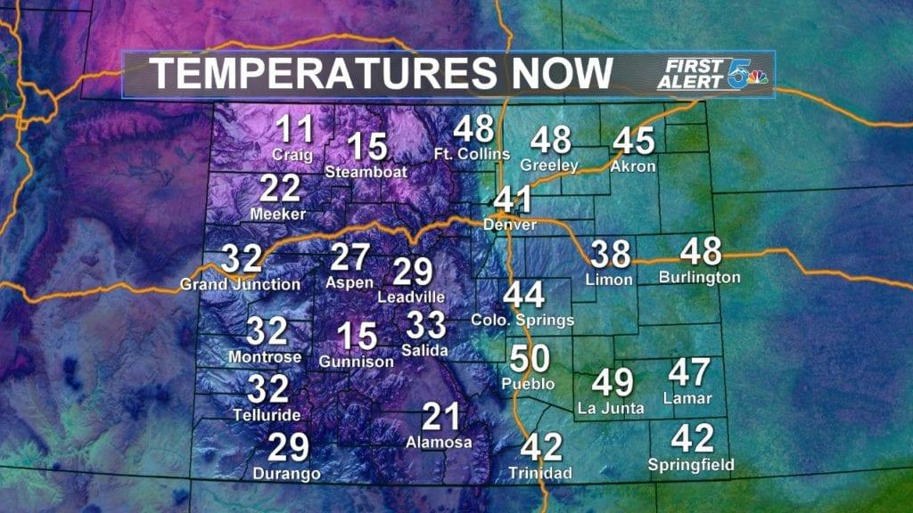 1-14 Temperatures Now