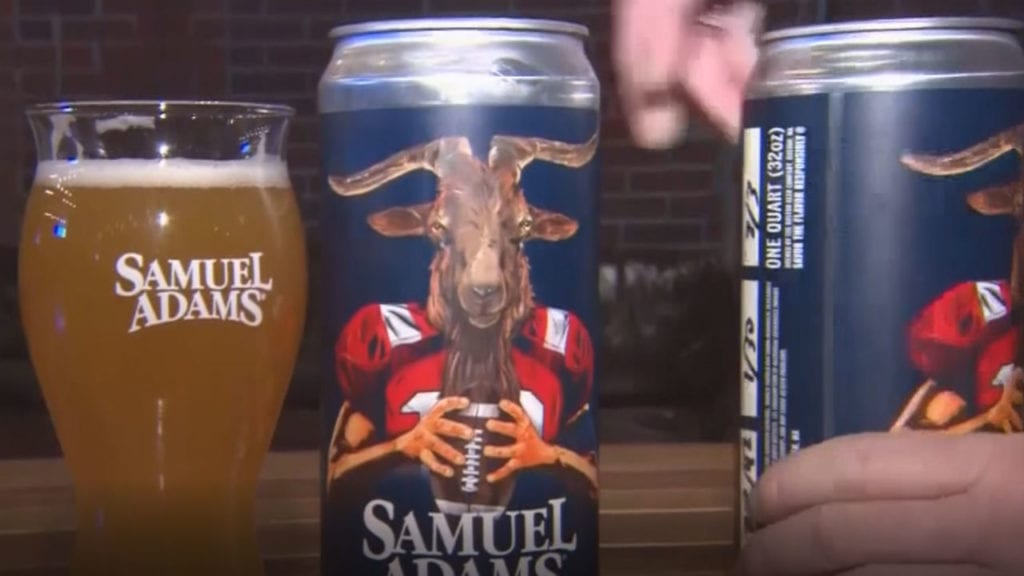 Sam Adams GOAT Brew