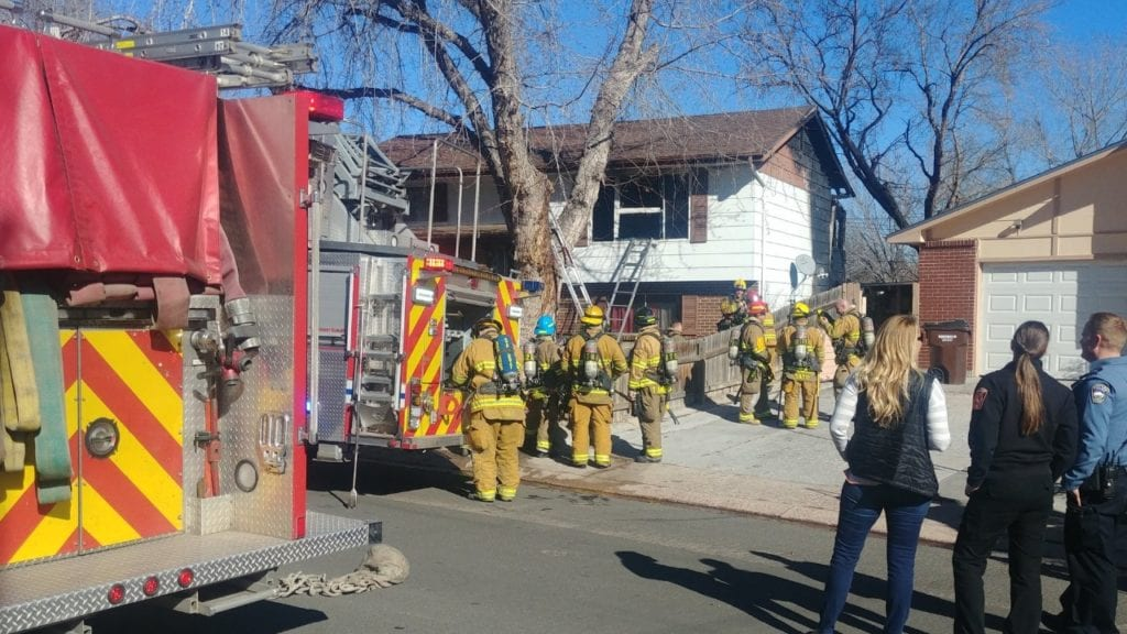 Kenwood Circle house fire