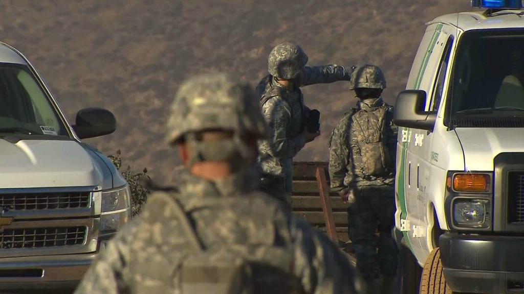 CA troops