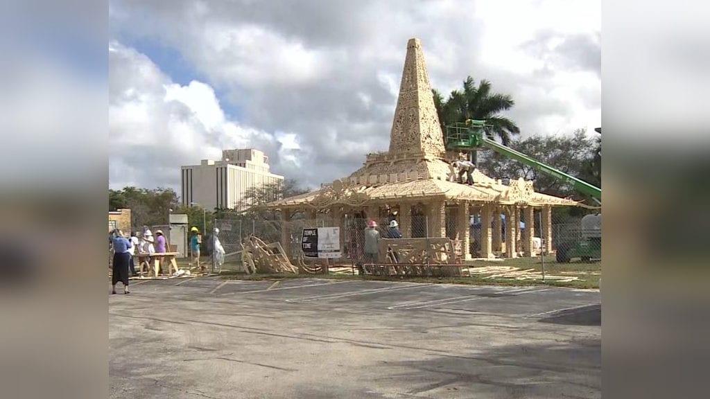 Parkland temple