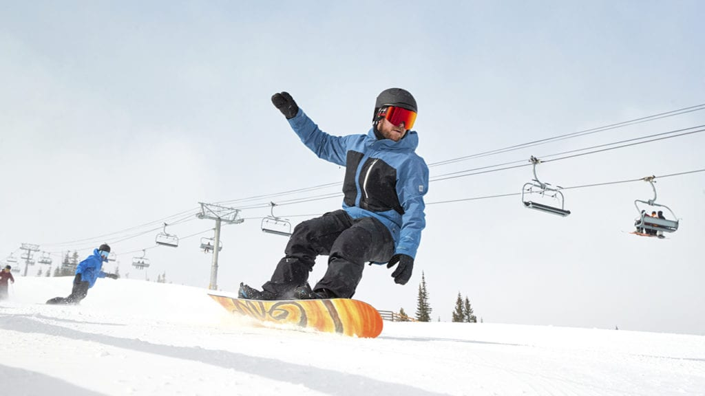 Breckenridge snowboarders