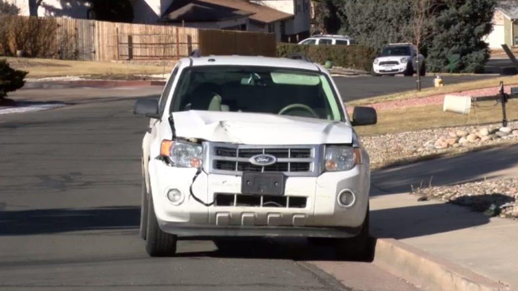 Valero Robbery Suspect Vehicle