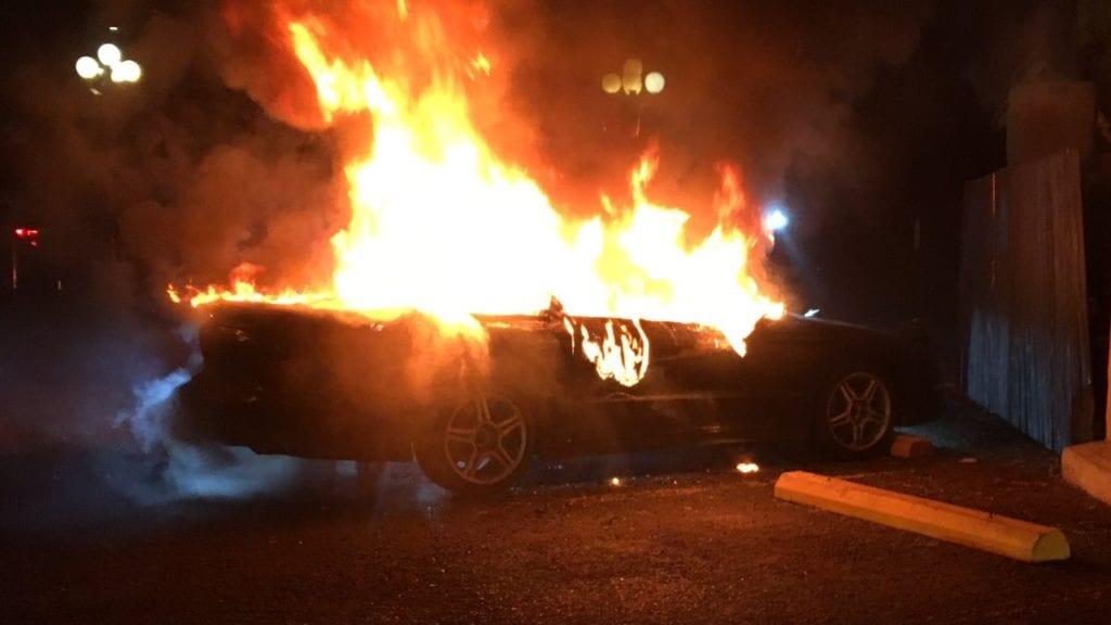 Pueblo Car Fire