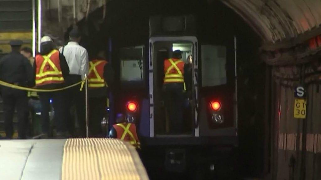 NYC subway death