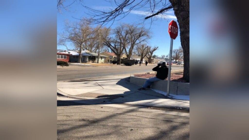 Pueblo SWAT call