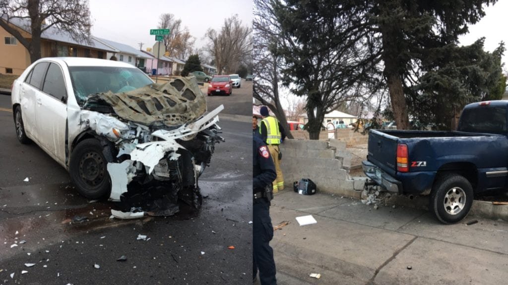 Pueblo Blvd Crash