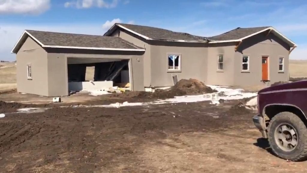 Highway 24 home explosion