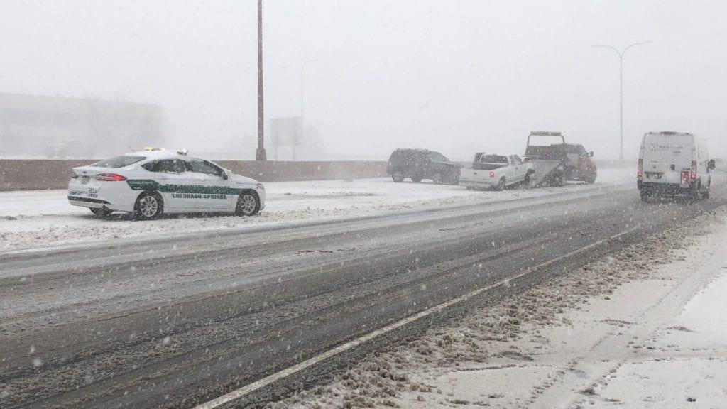I-25 Rockrimon crash