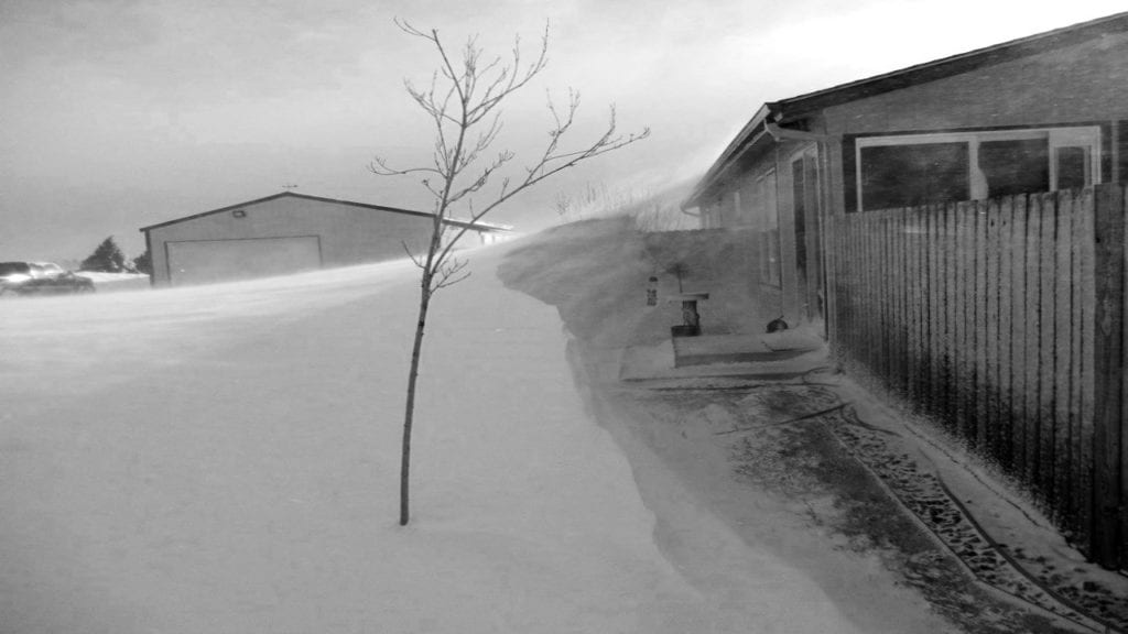 Peyton snow drift