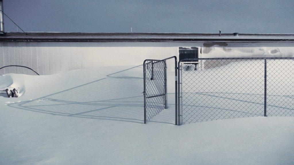 Snow drift in Peyton (Courtesy: Janine Coffman)