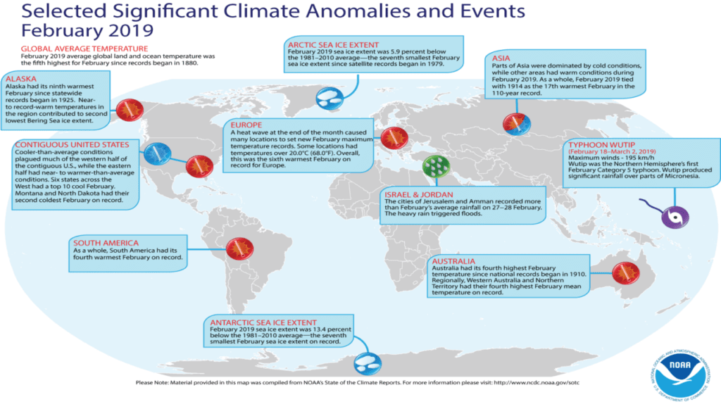 NOAA Climate Events