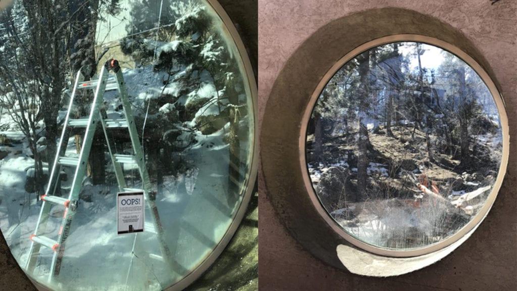 Cheyenne Mountain Zoo window
