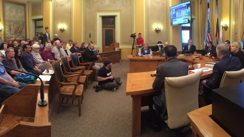 Pueblo County Commissioners meeting