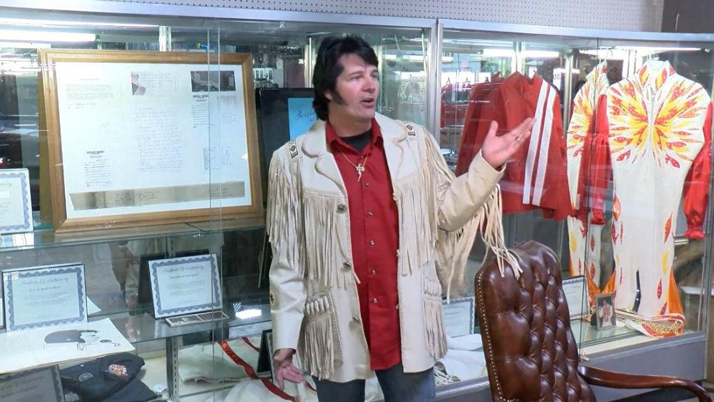 Unique Elvis memorabilia will soon be for sale