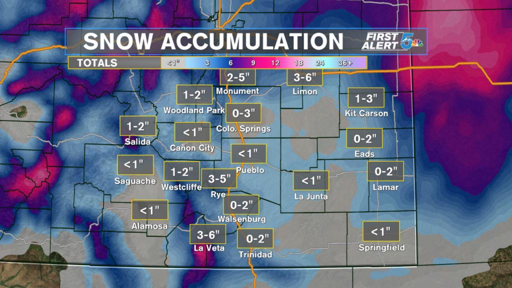Regional Snowfall Expectations