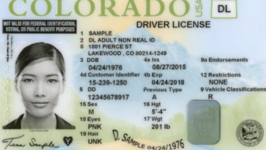 Colorado Safety Act DL