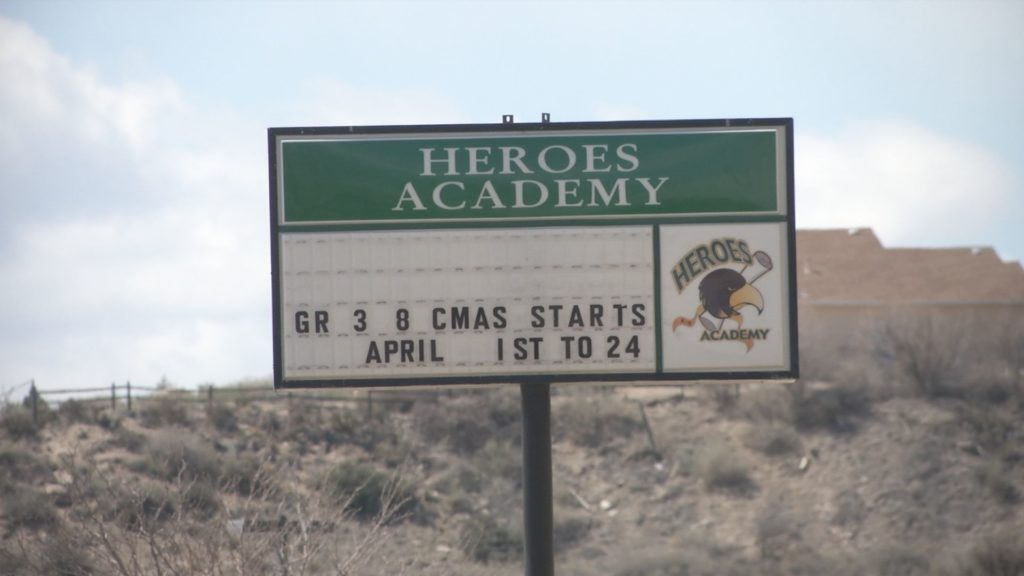 Heroes Academy will close down after the 2018-2019 school year. Pueblo City Schools chose to close the K-8 school amid financial struggles, aging buildings and declining attendance across the district.