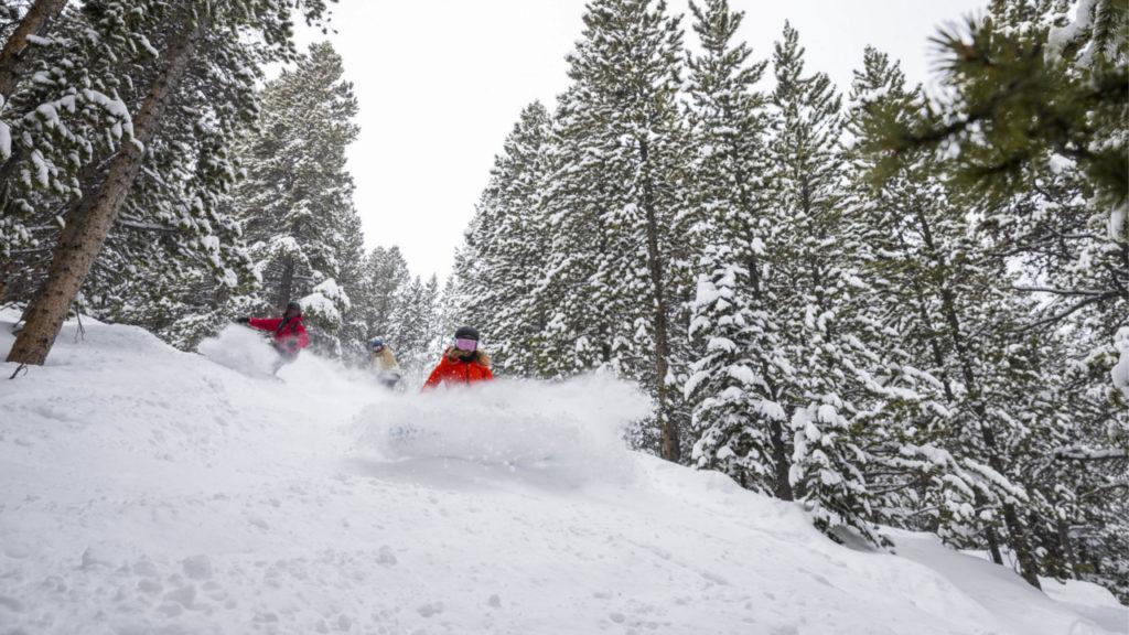 Breckenridge Snowboard Powder