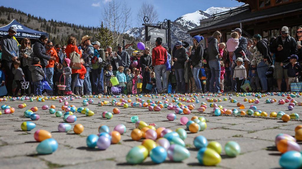 Copper Mountain easter egg hunt