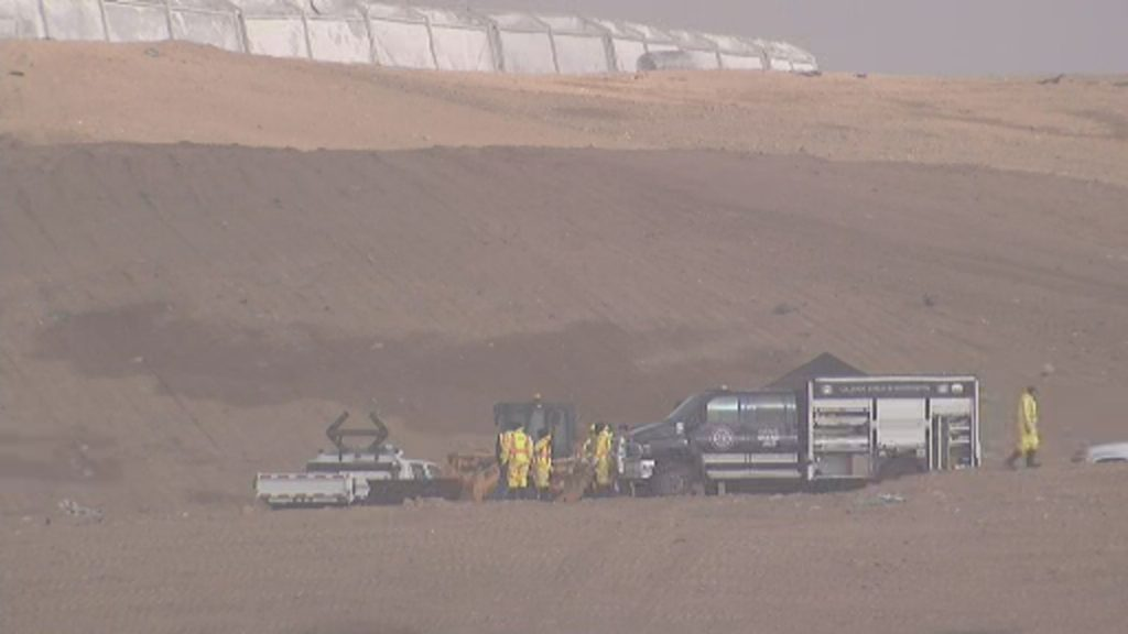 Investigators search the Midway Landfill south of Colorado Springs for Kelsey Berreth's remains.