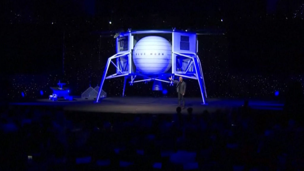 Blue Origin moon lander
