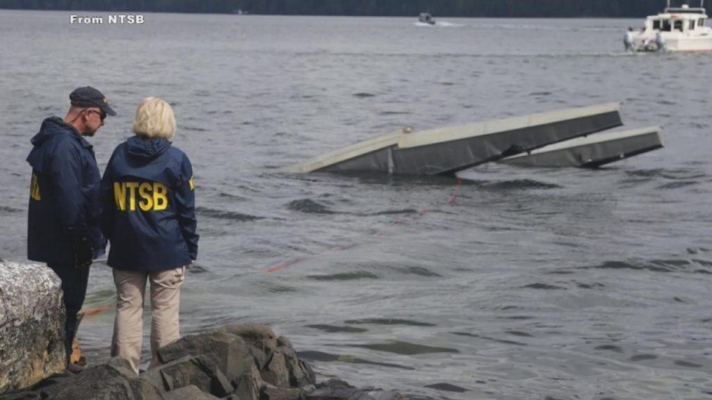 Alaska Crash Scene