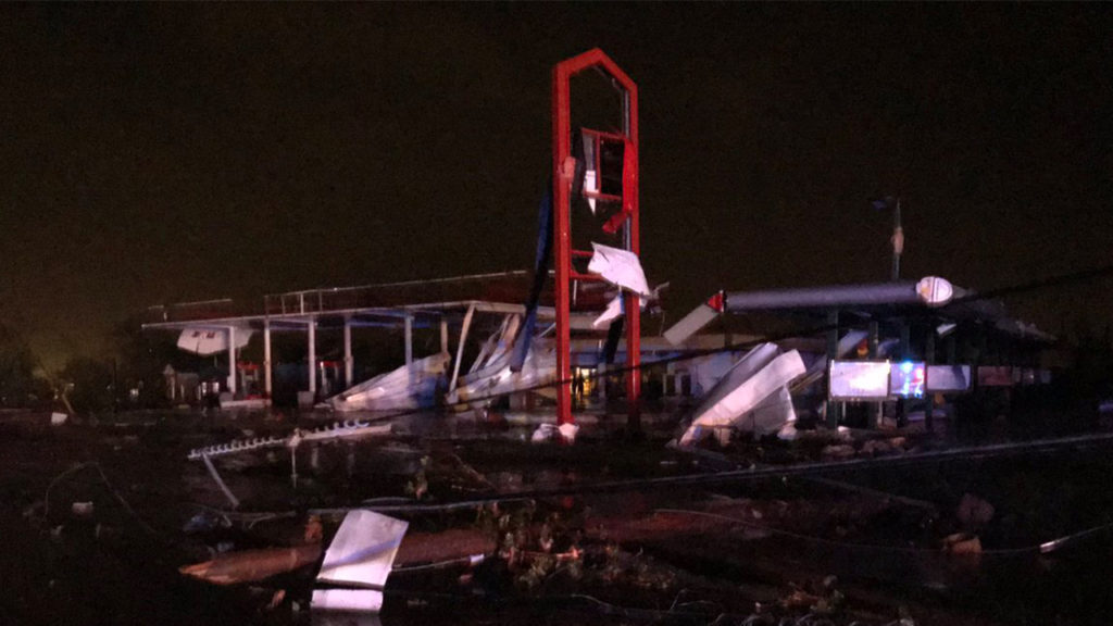 Jefferson City damage
