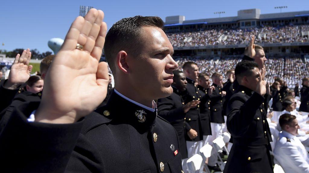 US Naval Academy Graduation