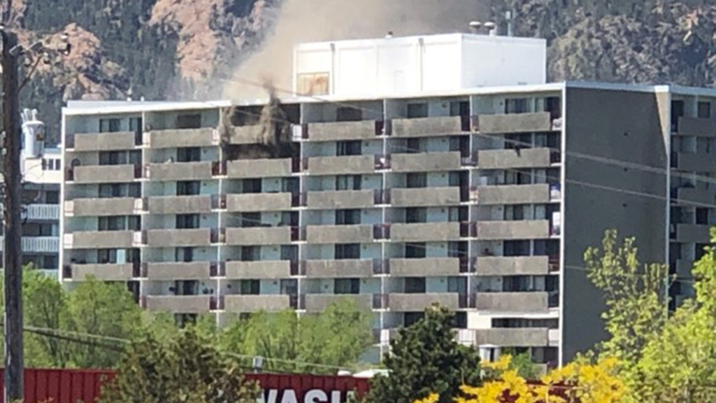 Regency apartments fire