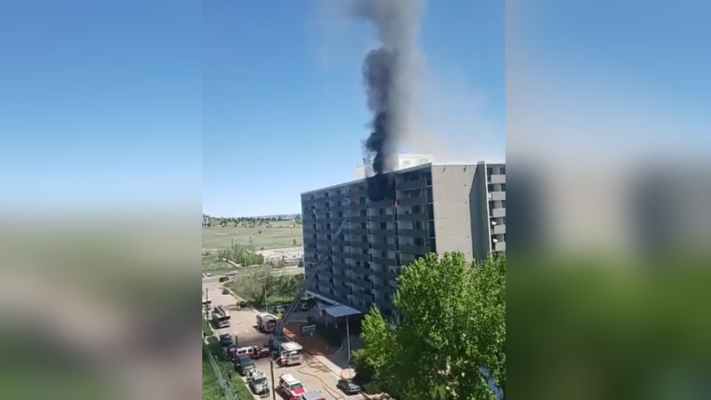 Regency Tower Apartments Fire