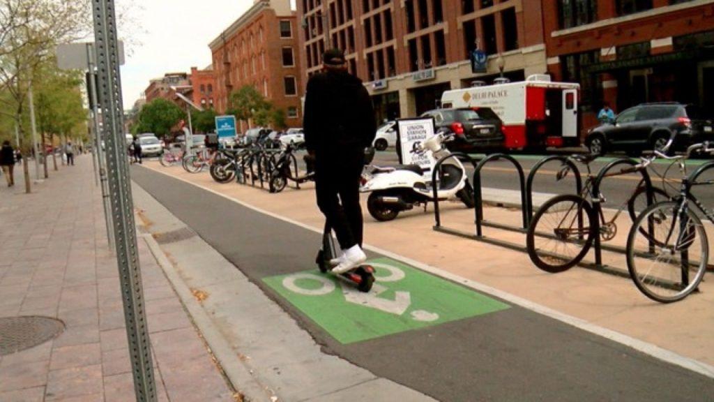 E-scooter in Denver