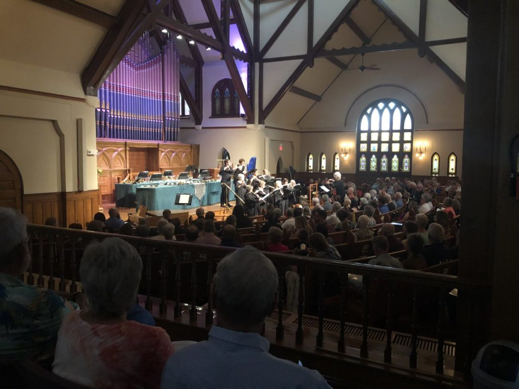 First Congregational Church hosts a memorial mass to honor 61 homeless people that died in Colorado Springs and El Paso County during 2018.