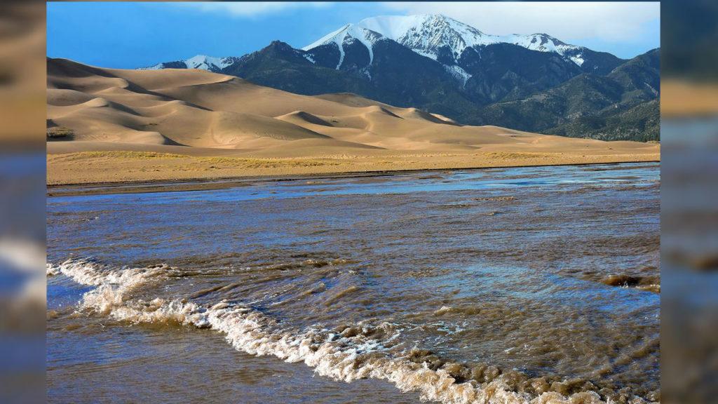 Sand Dunes Surge flow