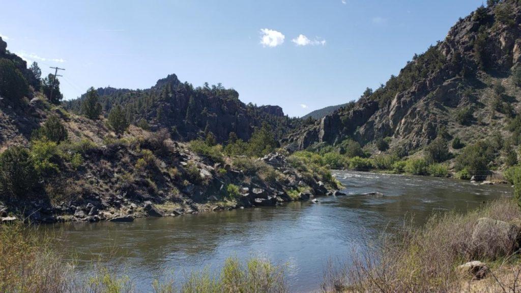 Arkansas River at Brown's Canyon