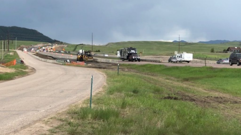 I-25 Gap Construction