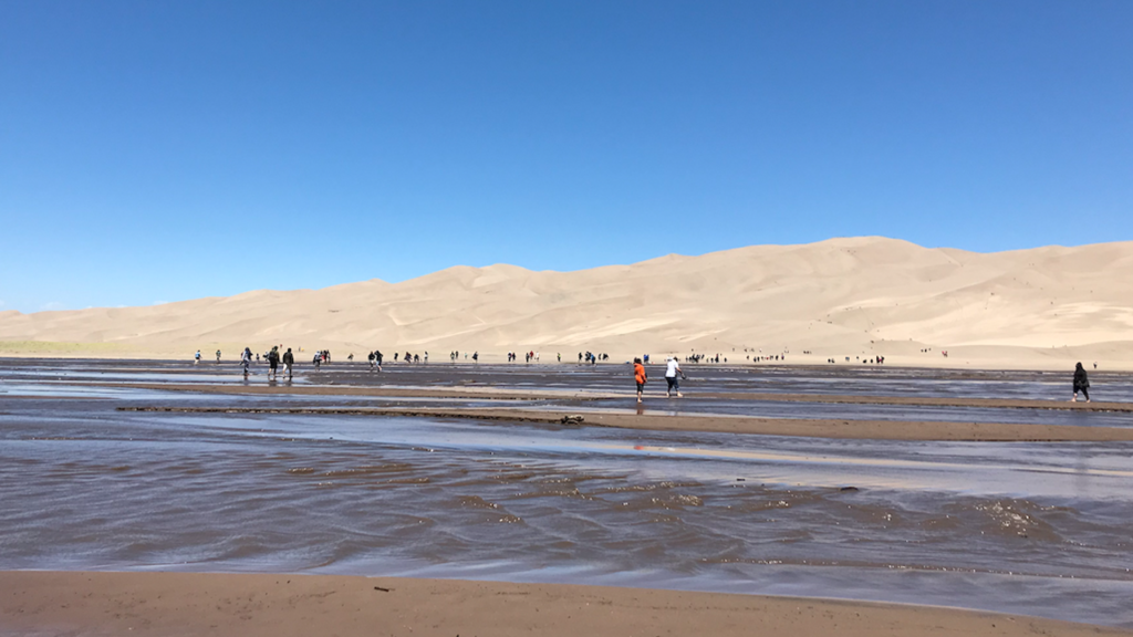 Great Sand Dunes National Park storm surge