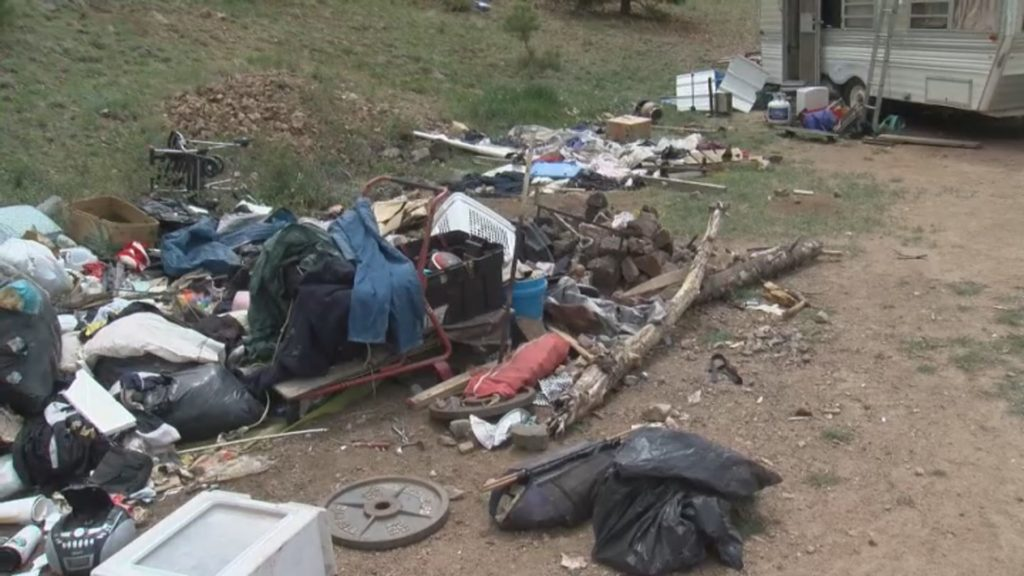 The Teller County Sheriff's Office is partnering with several community groups, including Focus on the Forest, to crack down on the dumping and trash associated with illegal camping.