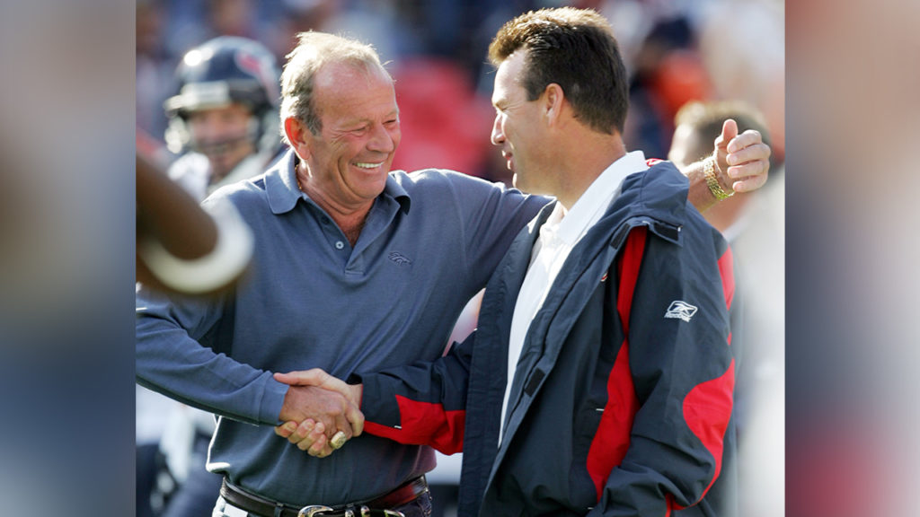 Pat Bowlen and Gary Kubiak