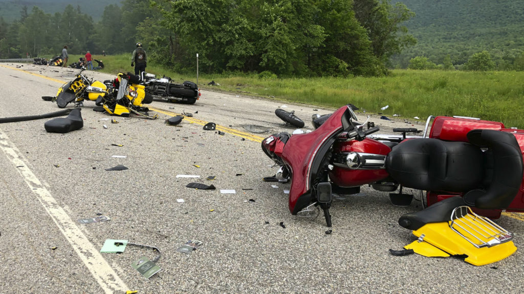 New Hampshire motorcycle crash
